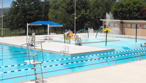 Public Swimming Pool Family Community Facilities Aquatic Facility Design